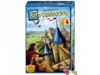Carcassonne, Új kiadás (Piatnik, területfoglalós stratégiai társasjáték, 8-99 év)