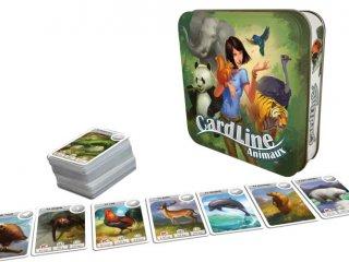 Cardline, Állatok (Asmodee, ismeretterjesztő kvízjáték, 7-99 év)