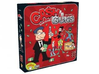 Cash'n Guns, 2. kiadás (Asmodee, gengszteres, blöffölős stratégiai partyjáték, pisztolyokkal 10-99 év)