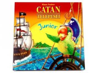 Catan Telepesei Junior (Piatnik, családi, stratégiai társasjáték, 6-14 év)