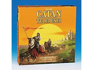 Catan telepesei Lovagok és városok (Piatnik, stratégiai társasjáték, 12-99 év)