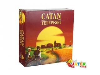 Catan Telepesei (Piatnik, családi, stratégiai társasjáték, 12-99 év)
