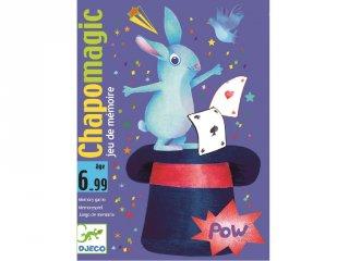 Chapomagic (Djeco, 5133, gyorsasági kártyajáték, 6-99 év)