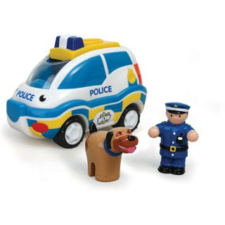 Charlie, a rendőrautó (Wow Toys, lendkerekes autó figurákkal, 18 hó-5 év)