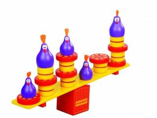 Chicky Boom (Blue orange, egyensúly-, és kézügyesség fejlesztő logikai játék, 4-8 év)