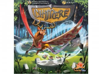 Chimere társasjáték (BR, ügyességi társasjáték, 8-99 év)