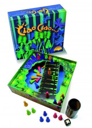 Ciao, ciao (Drei Hasen, blöffölős stratégiai társasjáték, 8-99 év)