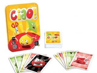 Ciao! (megfigyelés-gyorsaság kártyajáték, 7-99 év)