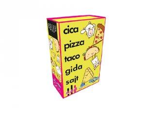 Cica, pizza, taco, gida, sajt, vicces party társasjáték (8-99 év)