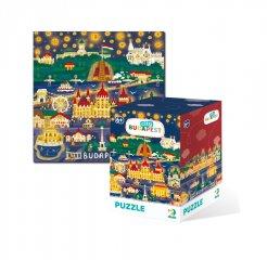 City puzzle Budapest, 120 db-os kirakó (DO, 6-8 év)