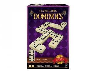 Classic Games Dominó, nagyméretű, 28 db-os logikai játék (6-99 év)