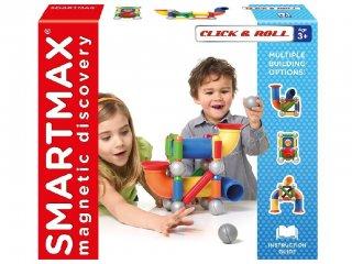 Click & Roll (Smartmax, mágneses építőjáték, 2-7 év)