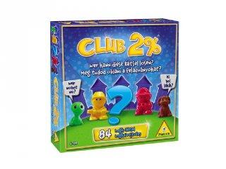 Club 2% (Piatnik, 84 feladványos logikai játék, 4-99 év)