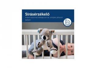 Coco zenélő, nyugtató plüss koala, babajáték (ZA)