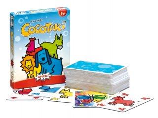 Cocotaki kártyajáték (Piatnik, állathang utánzós családi kártyajáték, 5-99 év)