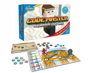 Code Master, program-, és útvonaltervező egyszemélyes logikai játék (Thinkfun, 58205, 8-99 év)
