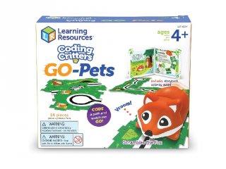 Coding Critters programozható róka (3097, Learning Resources, Go-Pets: Scrambles The Fox, 4-8 év)