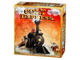 Colt Express (2015 Év Játéka, vonatrablós, banditás stratégiai társasjáték, 10-99 év)