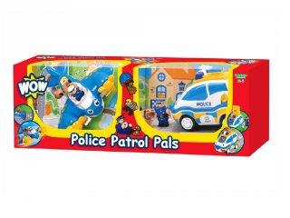 Combo pack Rendőrség, Wow Toys autós szerepjáték (2-5 év)