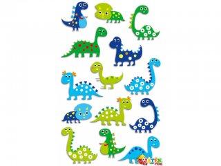 Cooky 3D matrica, Dinoszauroszok (Avenue Mandarine, kb. 20 db-os kreatív játék, 3-12 év)