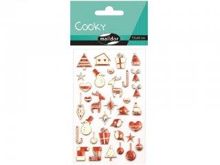 Cooky 3D matrica, Skandináv karácsony (Avenue Mandarine, CY043O, kb. 20 db-os kreatív játék, 3-12 év)