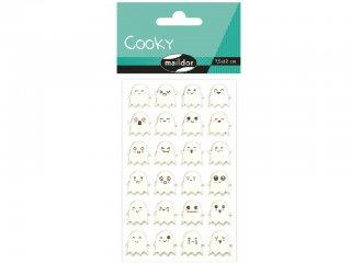 Cooky 3D matrica, Szellemek (Avenue Mandarine, CY039O, kb. 20 db-os kreatív játék, 3-12 év)