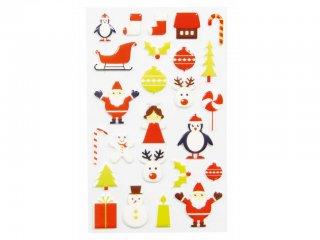 Cooky 3D matrica, Trendy Christmas (Avenue Mandarine, 560504, kb. 20 db-os kreatív játék, 3-12 év)