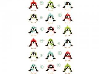 Cooky 3D matricák, Pingvinek (Avenue Mandarine, 560537, kb. 20 db-os kreatív játék, 3-12 év)