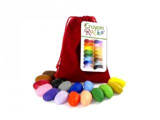 Crayon Rocks, 16 db-os kavicskréta készlet (bársony)