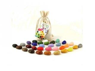 Crayon Rocks, 32 db-os kavicskréta készlet (színkavalkád)