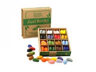 Crayon Rocks, 64 db-os kavicskréta készlet (Just Rocks Box)