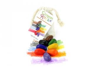 Crayon Rocks, 8 db-os kavicskréta készlet (muszlin)