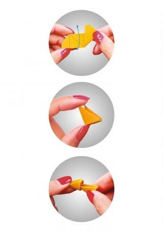 Creagami 3D origami készlet, Panda nagy (7-99 év)
