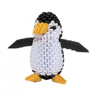 Creagami 3D origami készlet, Pingvin közepes (7-99 év)