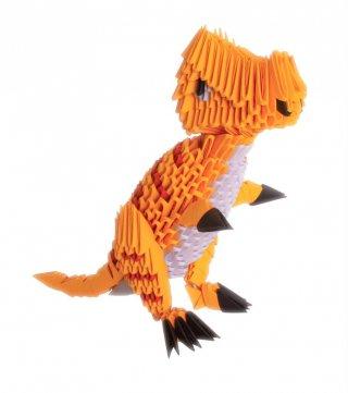 Creagami 3D origami készlet, T-rex nagy (7-99 év)