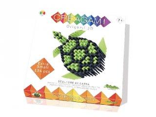 Creagami 3D origami készlet, Teknős mini (7-99 év)