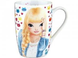 Csajos bögre (TM, 3,5 dl-es porcelán pohár lányoknak, 3-12 év)