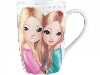 Csajos bögre (TM, 3,5 dl-es porcelán pohár lányoknak, 5-12 év)