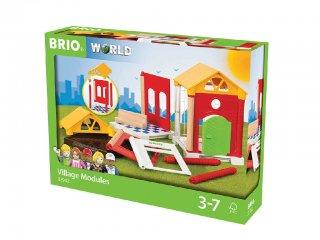 Családi ház kiegészítő szett (Brio, fa szerepjáték, 3-7 év)
