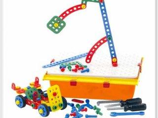 Csavarozz kisautót! építőjáték (Quercetti, 6140, csavarozós szerelőkészlet, 4-8 év)