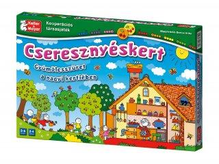 Cseresznyéskert társasjáték (Keller & Mayer, kooperatív társasjáték óvodásoknak, 4-8 év)