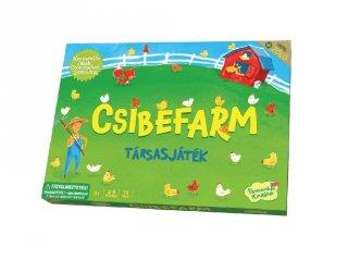 Csibefarm (PK, kooperatív társasjáték, 3-6 év)