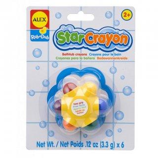 Csillag alakú szappankréta (Alex, fürdőjáték, 1-7 év)