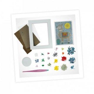 Csillámkép készítés Láma, Buki kreatív játék (7-12 év)