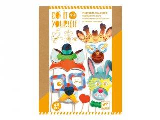 Csináld magad! Állati party, Djeco kreatív készlet - 7915