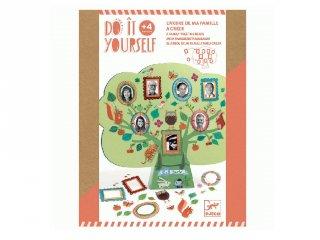 Csináld magad! Családfa készítő, Djeco kreatív szett - 7914