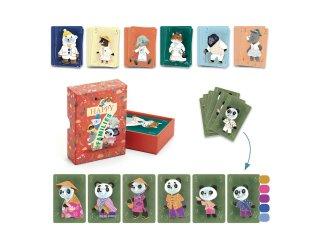 Csináld magad! Családgyűjtő kártyajáték készítő, Djeco kreatív készlet - 7947