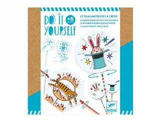 Csináld magad! Pálcikás pörgettyű készítés, Djeco kreatív készlet - 7944