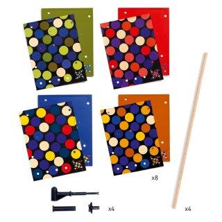 Csináld magad! Szélforgók Spots, Djeco kreatív készlet - 7923