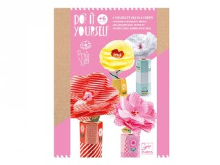 Csináld magad! Virágok, Djeco kreatív készlet - 7951